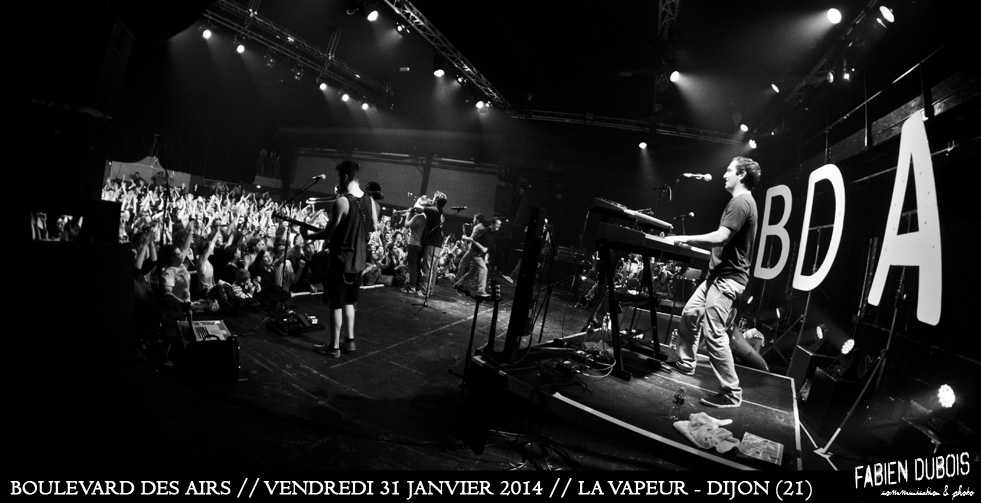 Photo Boulevard des Airs Vapeur Dijon France 2014